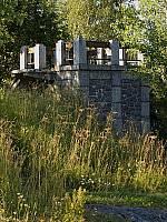 Обзорная площадка - водяной резервуар на горе Кухавуори