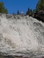 Водопад Рююмякоски