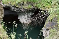 Провал в туннели Рускальских каменоломен