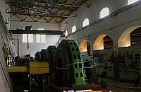 Машинный зал ГЭС в Хямекоски