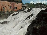 Порог на реке Янисйоки в Ляскеля