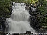Водопад Юканкоски в 2007 году
