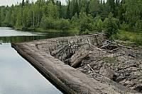 Плотина Исо-Юкакоски на реке Тулемайоки