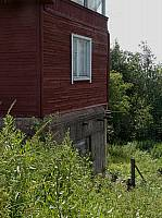Дом на доте в деревне Погранкондуши