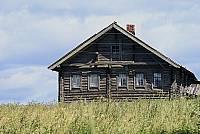 Карельский дом в деревне Кавайно