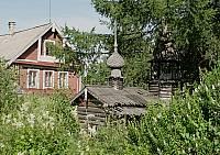 Макет церкви в поселке Ильинский
