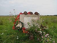 Здесь в районе реки Назии у бывших деревень Вороново и  Поречье, в сентябре 1941 г. советские войска остановили врага
