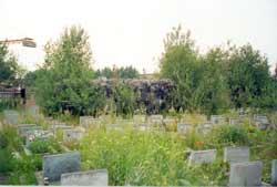 Пушечный ДОТ на кладбище Жертв 9 Января.