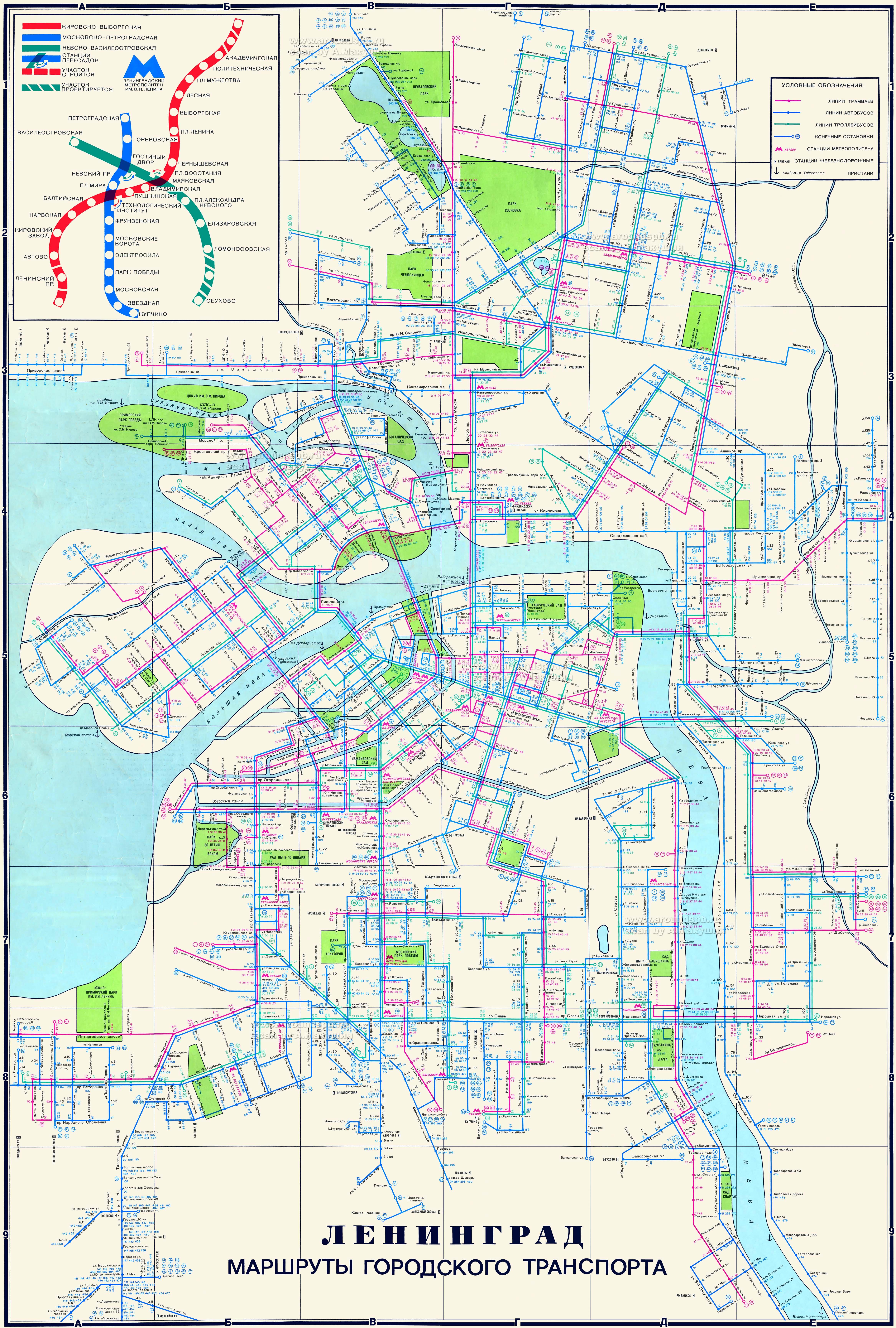 схема маршрутів вінниця 177