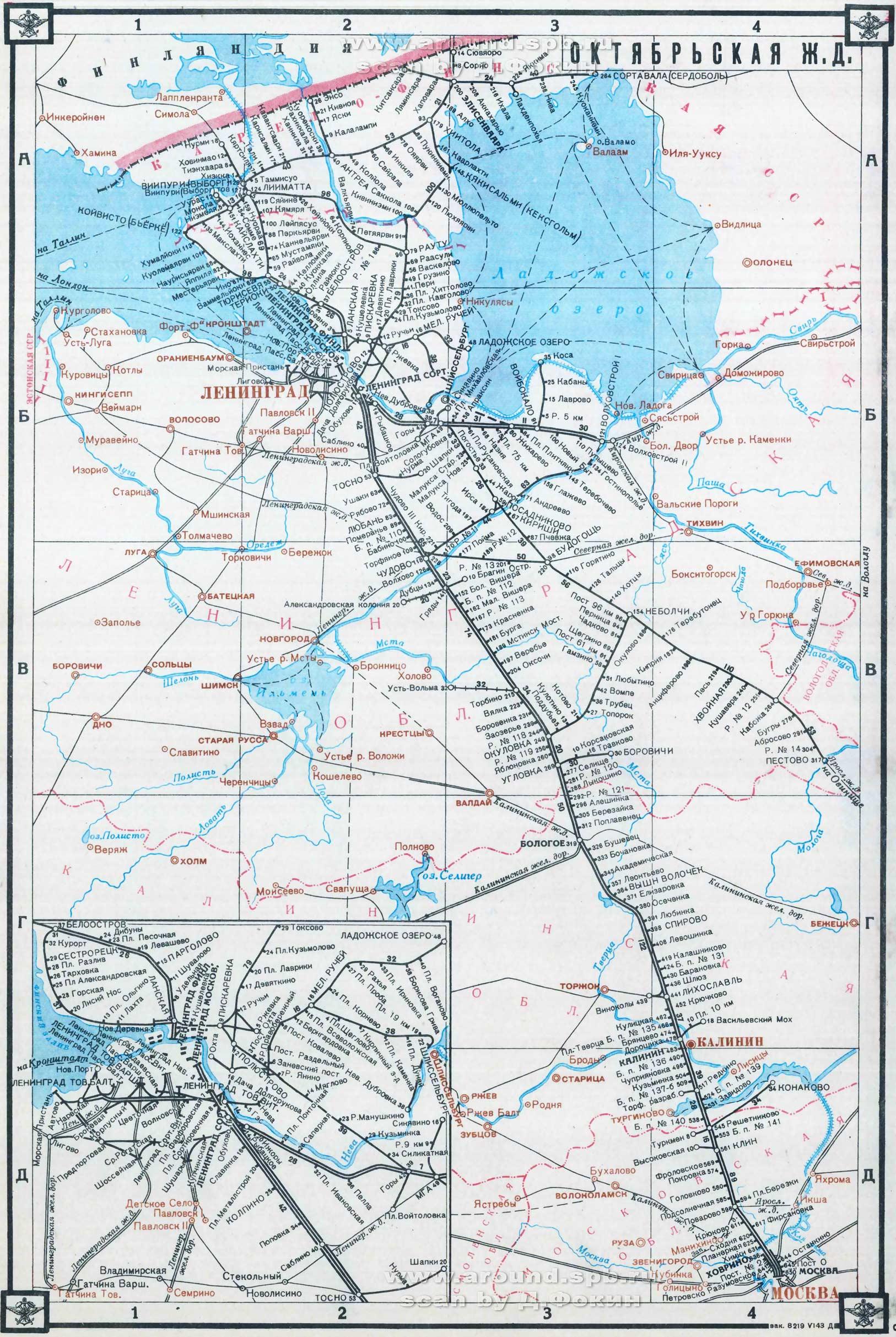 Схема жд станции октябрьск