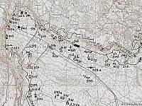 Схема сооружений Передового рубежа в Майнила