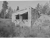 Артиллерийский полукапонир в Кирьясало