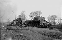 Танк КВ-1 из 124-й танковой бригады