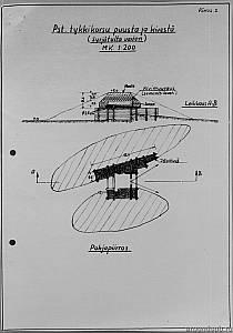 Выборгский укрепрайон. Артиллерийский полукапонир