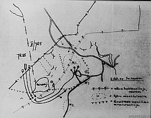 Выборгский укрепрайон. План операции против ОП Кананоя