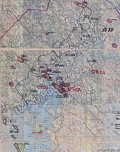 Выборгский укрепрайон. Положение войск 23-й армии на 30.12.1944
