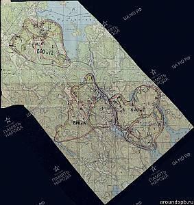 Выборгский укрепрайон. Фрагмент 1-го оборонительного рубежа