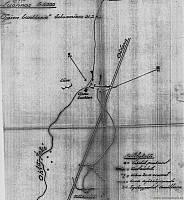 Схема операции по уничтожению дота 31.03.1942