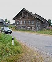 Маньга. Карельский дом