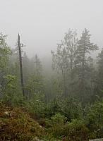 Вершина Воттоваары в облаке