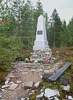 Памятник бойца 1й партизанской бригады