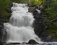 Карелия. Водопад Юканкоски.