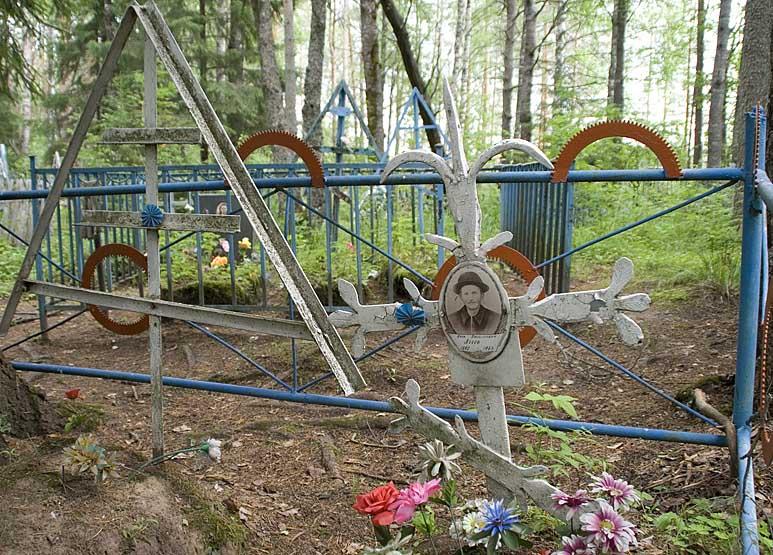 Карельское кладбище в