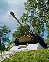 Танк ИС-3 в Приозерске