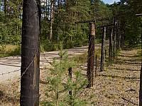 Пограничный забор в Березово