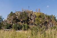 Скала Линнавуори в Хийтола
