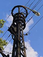 Финский электрический столб