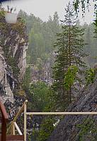 Мраморный карьер в Рускеала.