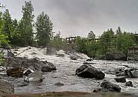 Порог Леппякоски на реке Янисйоки