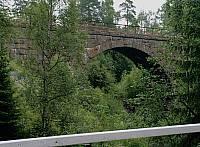 Железнодорожный мост через ручей Лёютёойя в Харлу