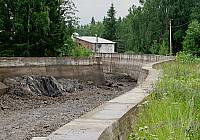 Водоводный канал в Хямекоски