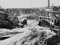 финский водопад. из книги Имперская Финляндия. М.Клинге