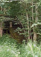 Лестница на церковный холм в Кителя