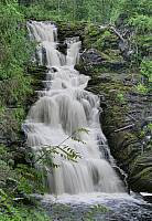 Водопад Юканкоски в 2008 году