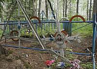 Карельское кладбище в Колатсельге