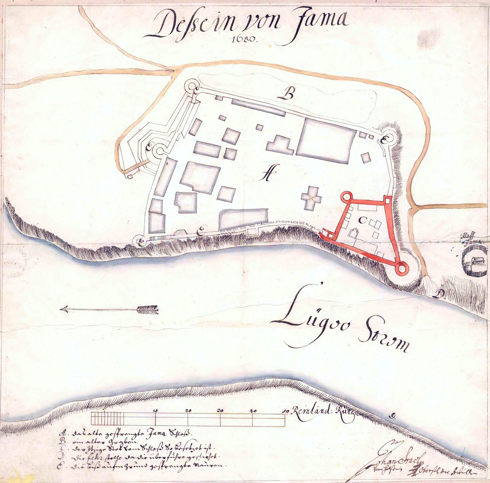 План Ямы 1680 года